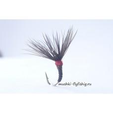 Kebari silicon body (black-red)