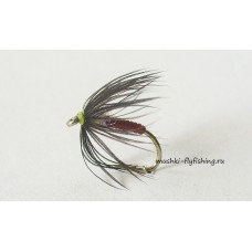 soft hackle black hen (vinyl body)